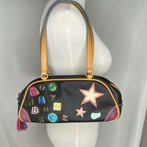 Dooney & Burke Mini Varsity Duffle Bag Purse Charm
